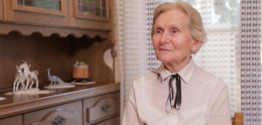 SERBIA'S 83-YEAR-OLD VOLUNTEER HEROINE
