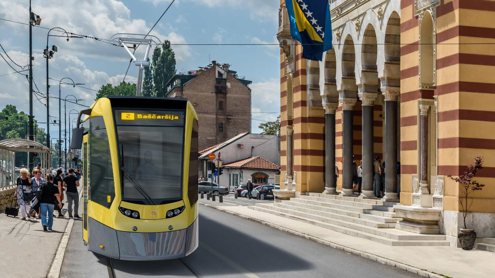 Sarajevo on track to a greener and cleaner city